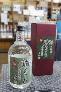 18 奥飛騨酒造鶏ちゃん焼酎_R